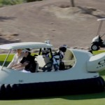 golf hover craft